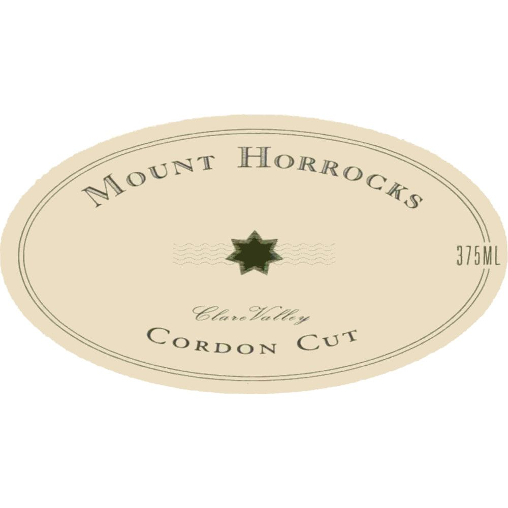 Mount Horrocks Cordon Cut Late Harvest Riesling (half-bottle) 2006 Front Label
