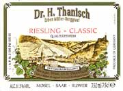Dr. Thanisch Riesling Classic 2005 Front Label