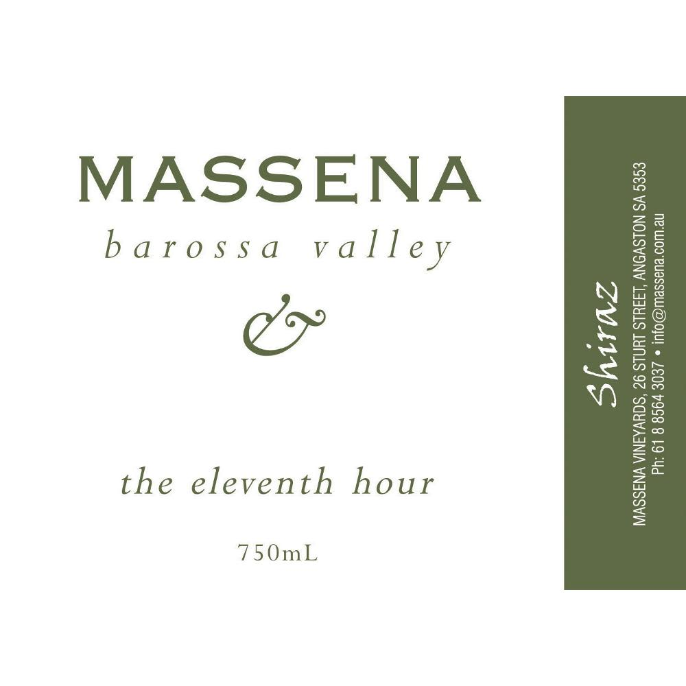 Massena The Eleventh Hour Shiraz 2005 Front Label