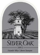 Silver Oak Alexander Valley Cabernet Sauvignon (6 Liter Bottle) 2002 Front Label