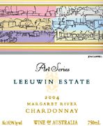 Leeuwin Estate Art Series Chardonnay 2004 Front Label