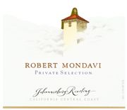 Robert Mondavi Private Selection Johannisberg Riesling 2006 Front Label