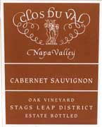 Clos Du Val Stags Leap District Cabernet Sauvignon 2004 Front Label