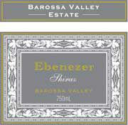 Barossa Valley Estate Ebenezer Shiraz 2002 Front Label