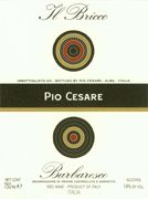 Pio Cesare Il Bricco Barbaresco 2003 Front Label
