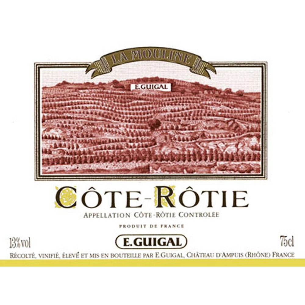 Guigal La Mouline Cote Rotie 2003 Front Label