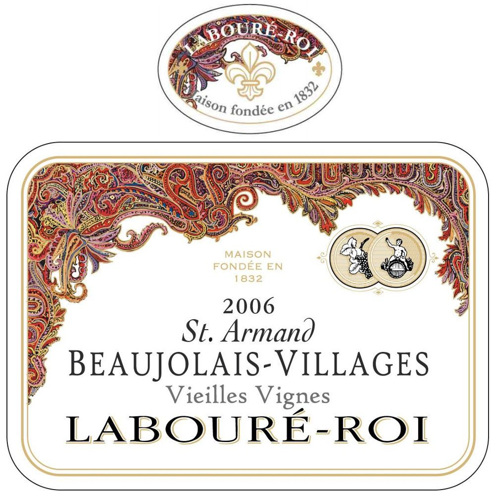 Laboure Roi Beaujolais Villages St. Armand 2006 Front Label