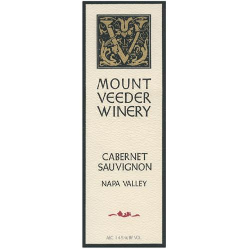 Mount Veeder Winery Cabernet Sauvignon 1994 Front Label