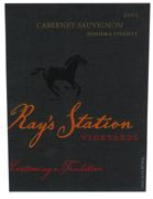 Ray's Station Sonoma County Cabernet Sauvignon 2003 Front Label