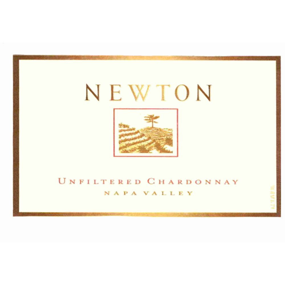 Newton Unfiltered Chardonnay 2005 Front Label