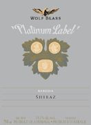 Wolf Blass Platinum Label Shiraz 2003 Front Label