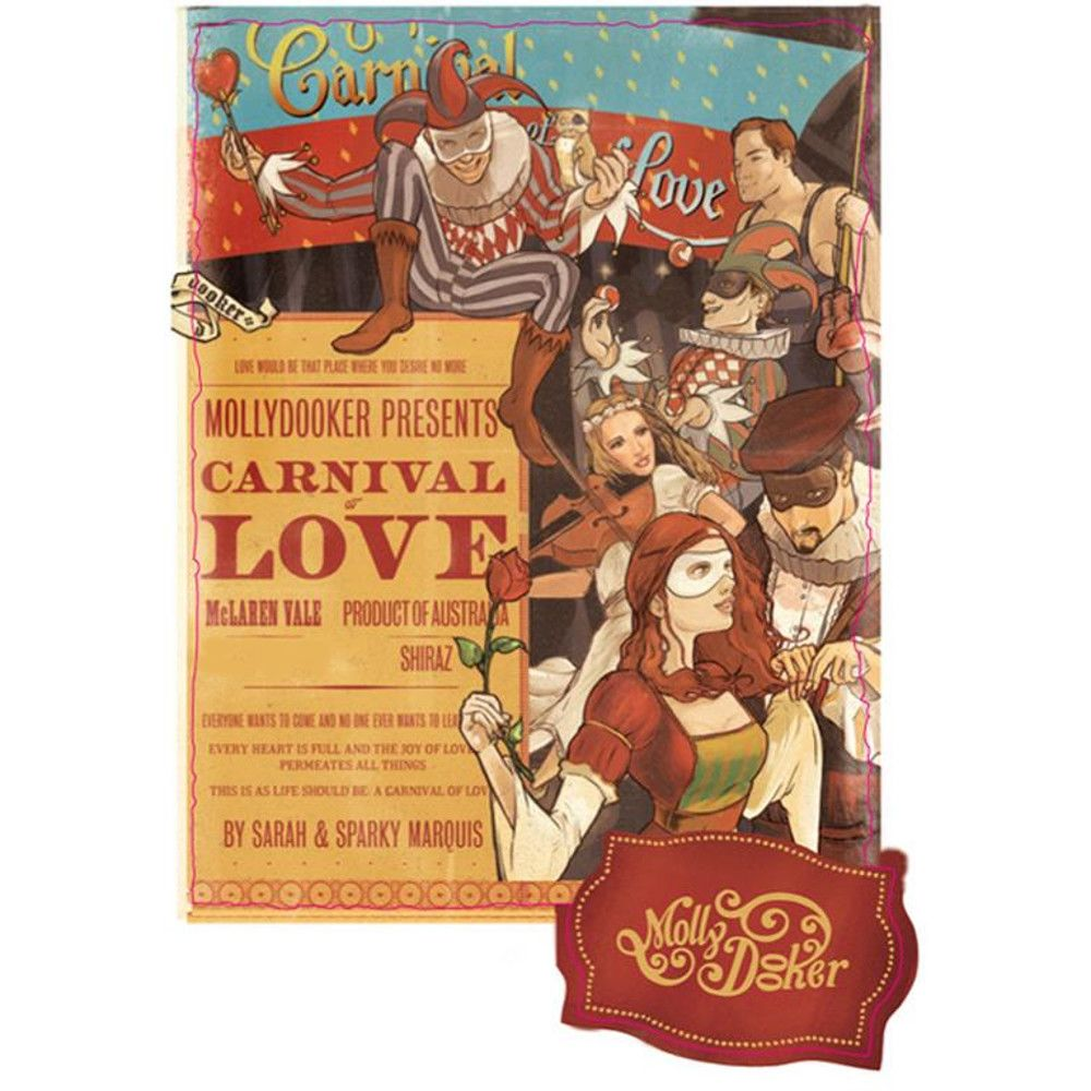 Mollydooker Carnival of Love 2006 Front Label