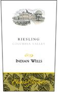 Chateau Ste. Michelle Indian Wells Riesling 2006 Front Label