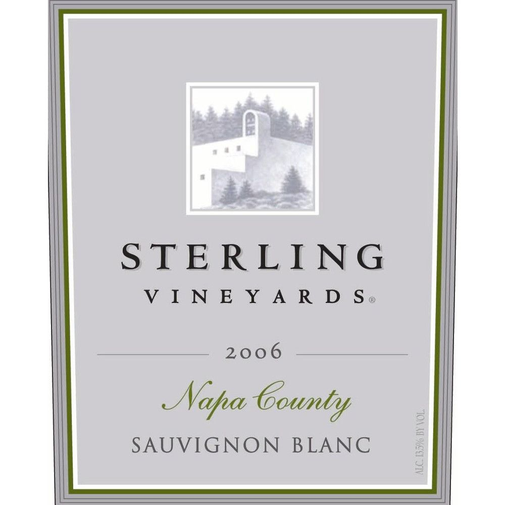 Sterling Sauvignon Blanc 2006 Front Label