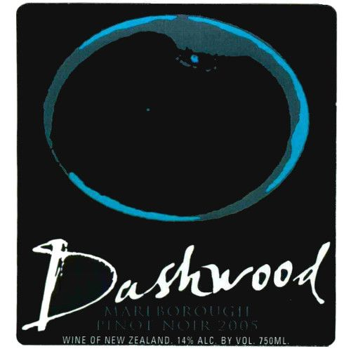 Dashwood Pinot Noir 2005 Front Label