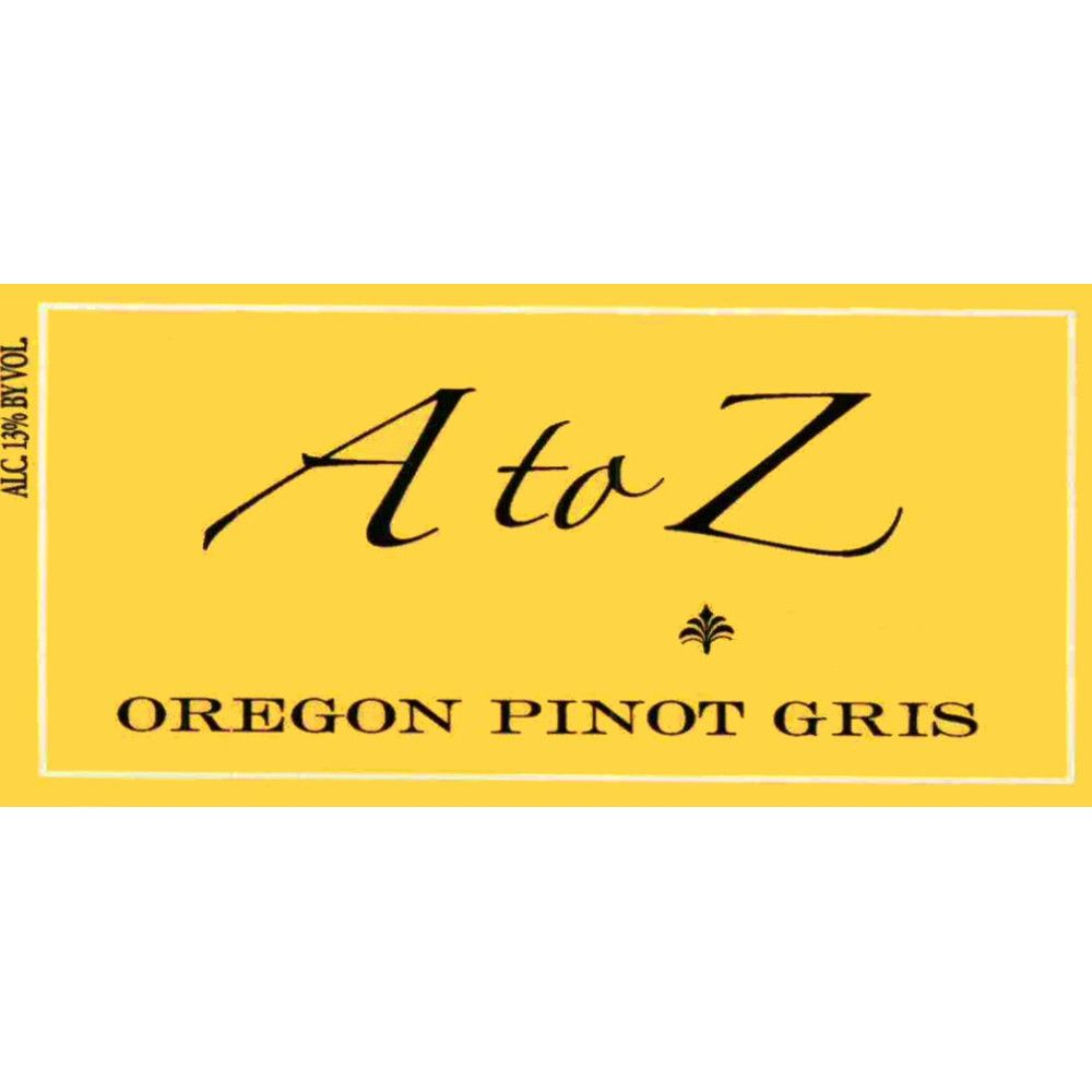 A to Z Pinot Gris 2006 Front Label