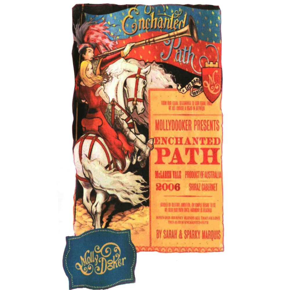 Mollydooker Enchanted Path 2006 Front Label