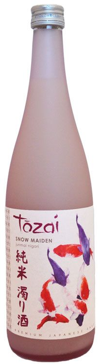 Tozai Snow Maiden Sake (720ML) Front Bottle Shot