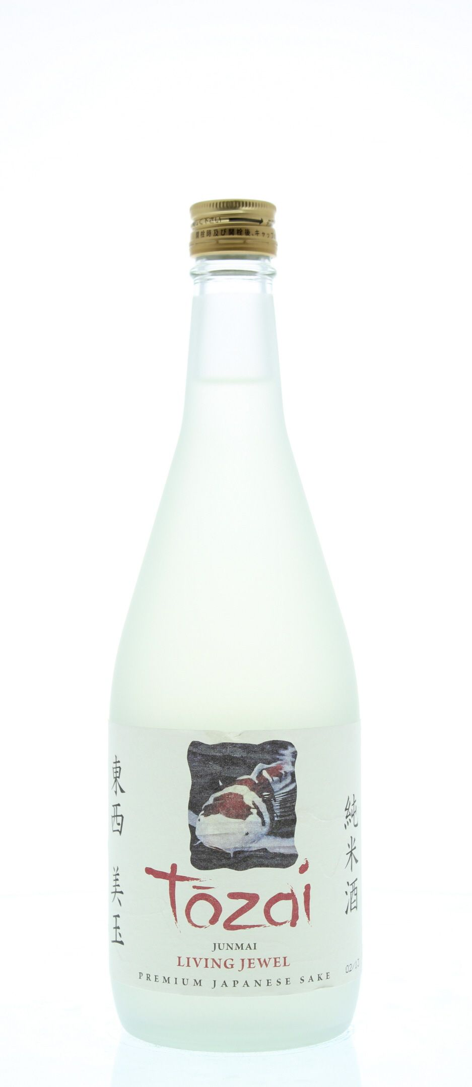 Tozai Living Jewel Sake (720ML) Front Bottle Shot