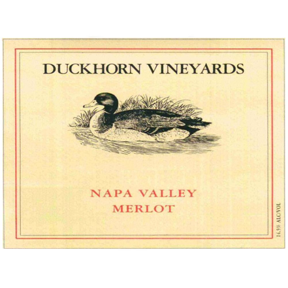 Duckhorn Napa Valley Merlot 2005 Front Label