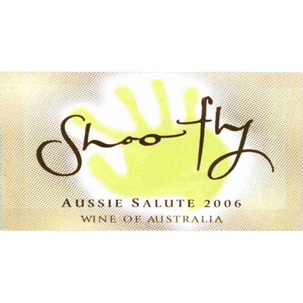 Shoofly Aussie Salute 2006 Front Label