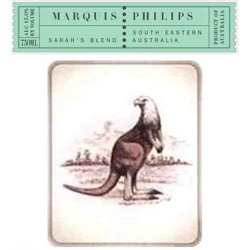 Marquis Philips Sarah's Blend 2006 Front Label