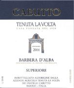 Cabutto Barbera d'Alba 2004 Front Label