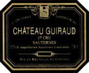 Chateau Guiraud Sauternes (375ML half-bottle) 2004 Front Label