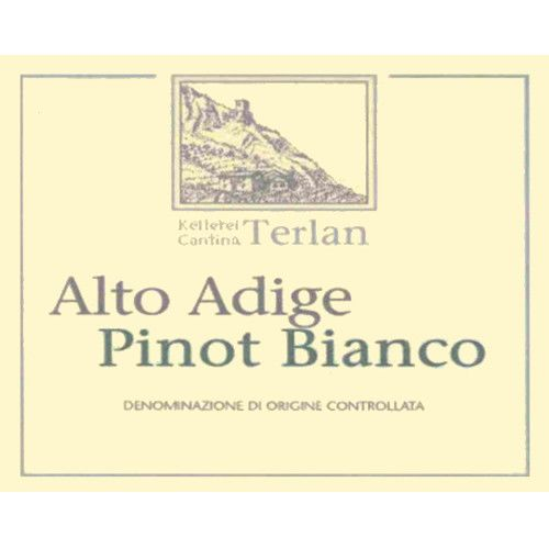 Terlano Pinot Bianco 2006 Front Label