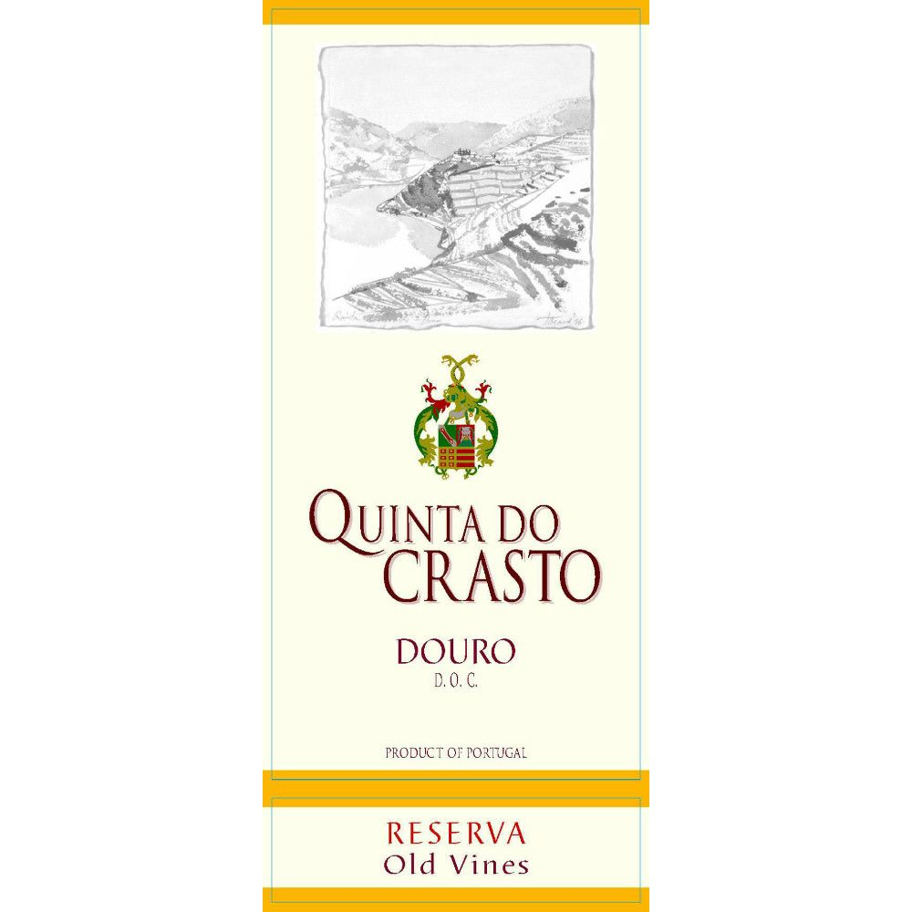 Quinta do Crasto Douro Red Reserva Old Vines 2005 Front Label