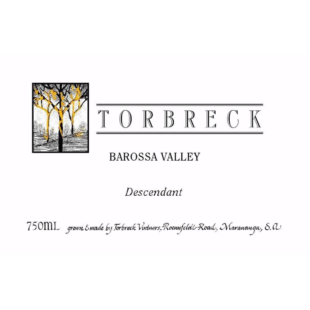 Torbreck Descendant Shiraz 2005 Front Label