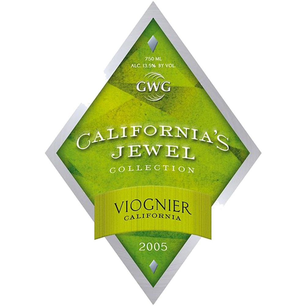 California's Jewel Viognier 2005 Front Label