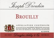 Joseph Drouhin Brouilly 2005 Front Label