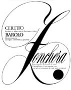 Ceretto Zonchera Barolo 2001 Front Label