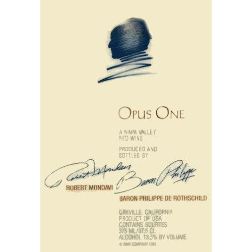 Opus One  2004 Front Label