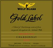 Wolf Blass Gold Label Chardonnay 2004 Front Label