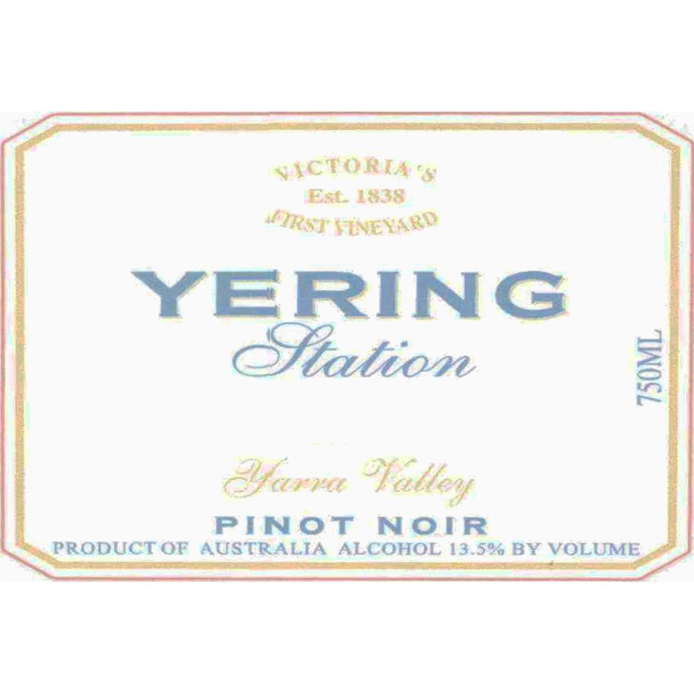 Yering Station Pinot Noir 2005 Front Label