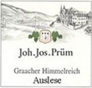 J.J. Prum Graacher Himmelreich Gold Capsule Auslese Riesling 2003 Front Label