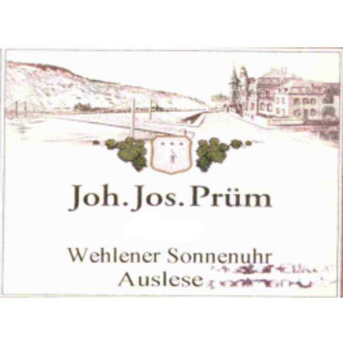 J.J. Prum Wehlener Sonnenuhr Auslese Riesling A P #1406 2005 Front Label