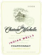 Chateau Ste. Michelle Indian Wells Vineyard Chardonnay 2006 Front Label