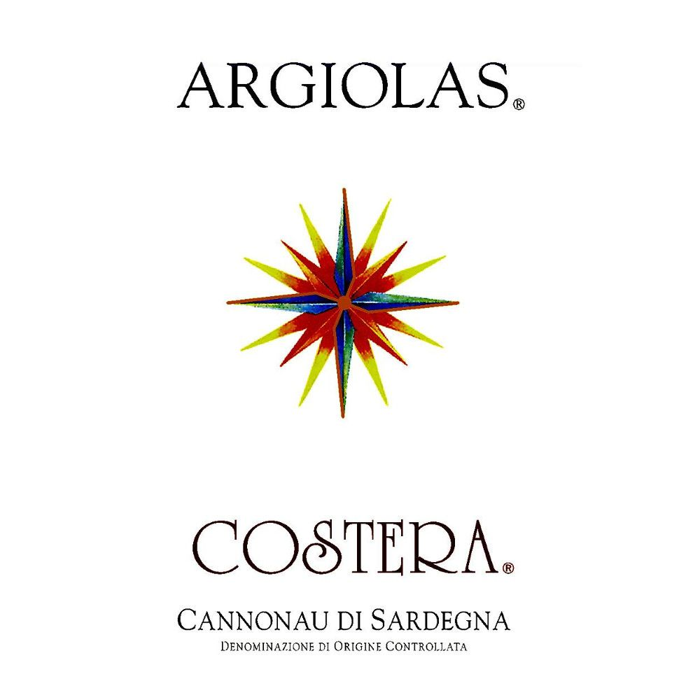 Argiolas Costera 2006 Front Label