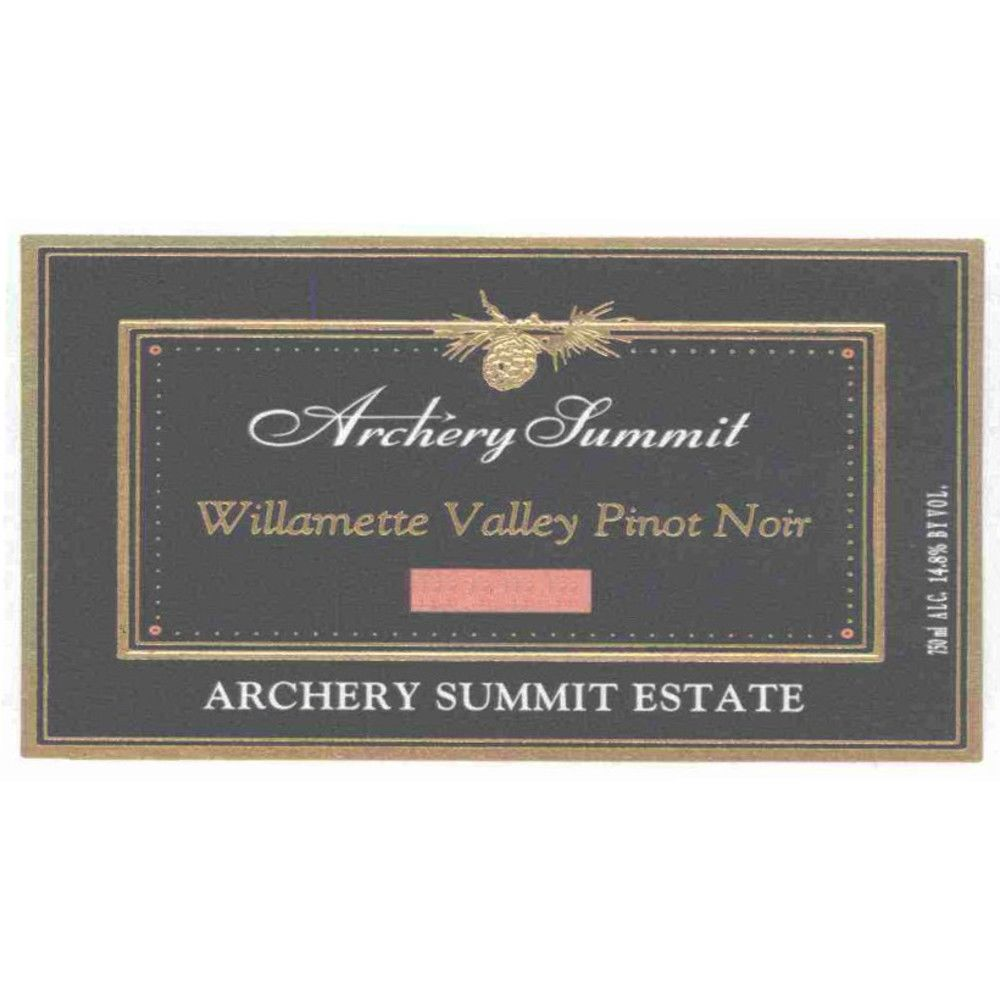 Archery Summit Arcus Pinot Noir 2005 Front Label