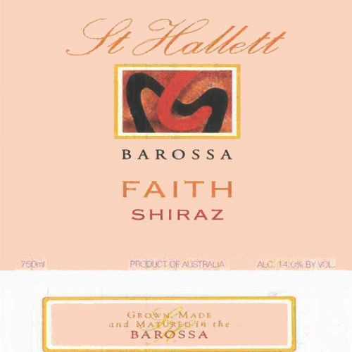 St Hallett Faith Shiraz 2006 Front Label