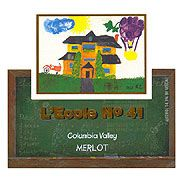 L'Ecole 41 Columbia Valley Merlot 2005 Front Label