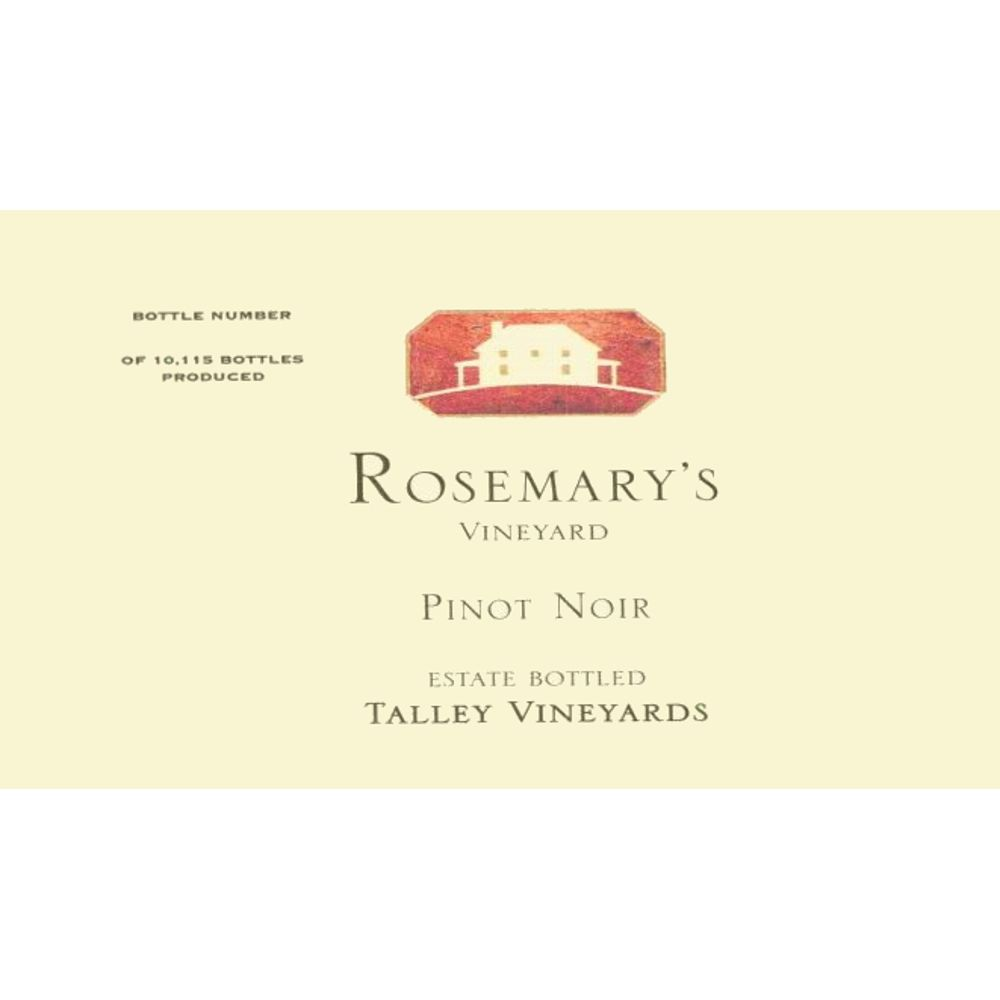 Talley Rosemary's Vineyard Pinot Noir 2005 Front Label