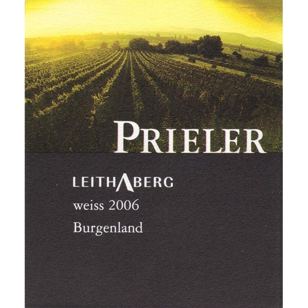 Prieler Pinot Blanc Leithaberg Weiss 2006 Front Label