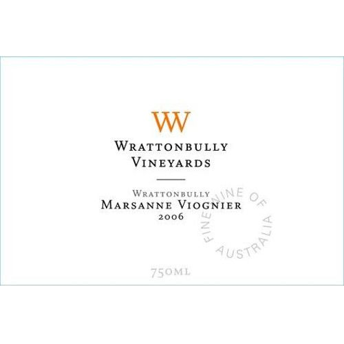Wrattonbully Vineyards Marsanne Viognier 2006 Front Label