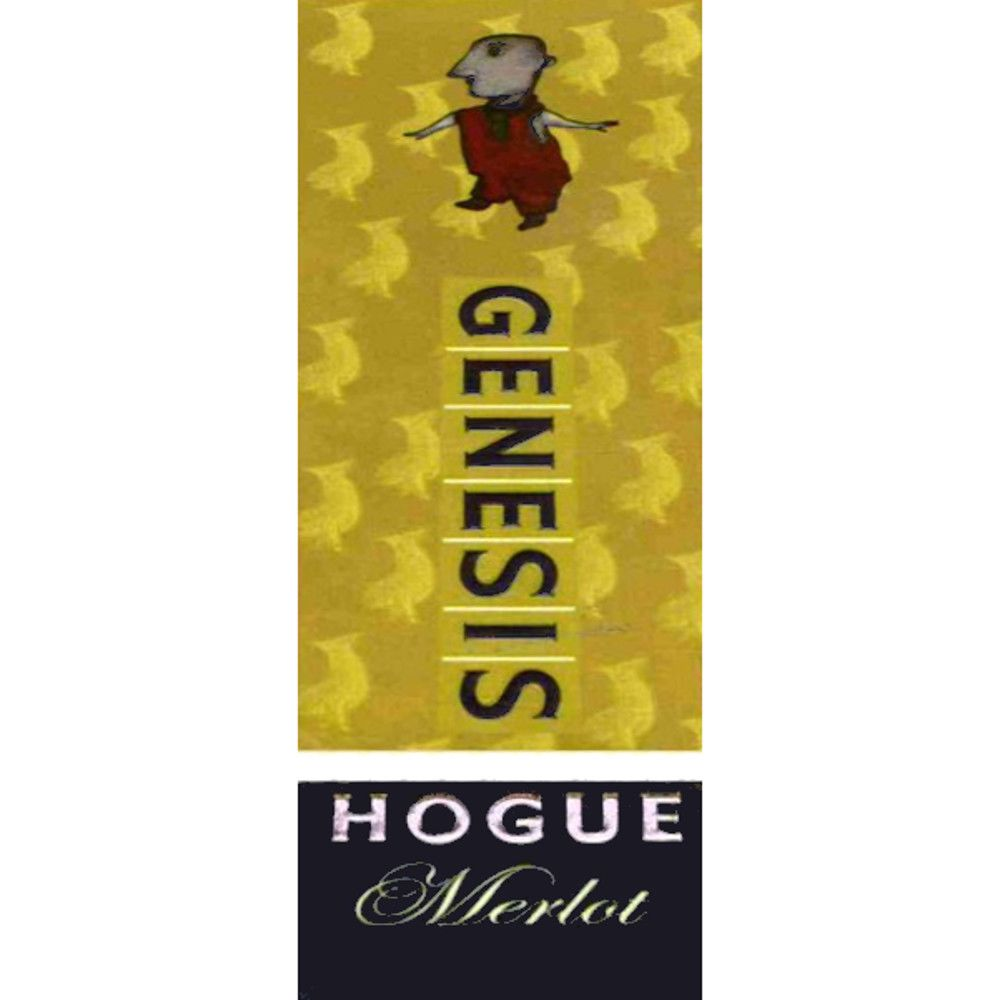 Hogue Genesis Merlot 2005 Front Label