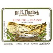 Dr. Thanisch Riesling Classic 2007 Front Label