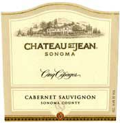 Chateau St. Jean Cinq Cepages (half-bottle) 2003 Front Label